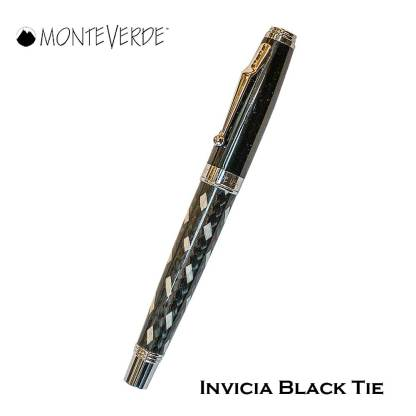 Monteverde Invicia Black Tie Roller Pen