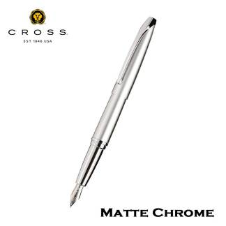 Cross ATX Matte Chrome Fountain Pen