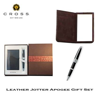Cross Apogee Leather Jotter