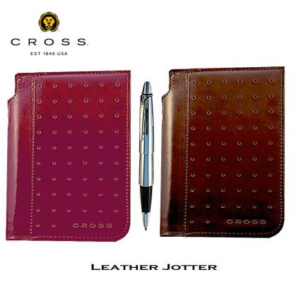 Cross Leather Legacy Jotter