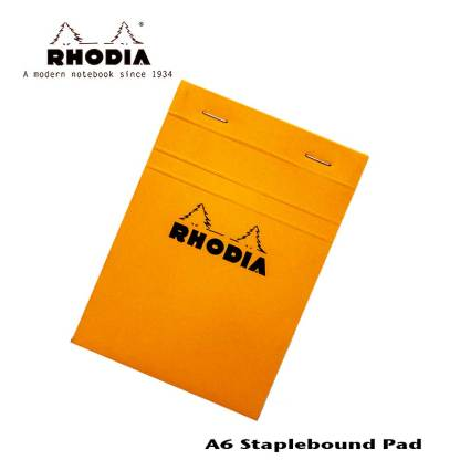 Rhodia Staple Bound Pad 4 X 6
