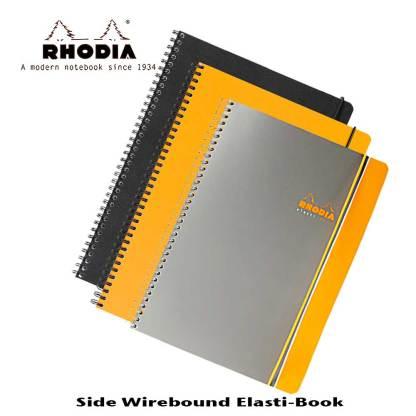 Rhodia Elasti Book Side Wire Bound