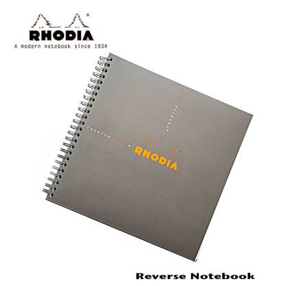 Rhodia Reverse Graph Book