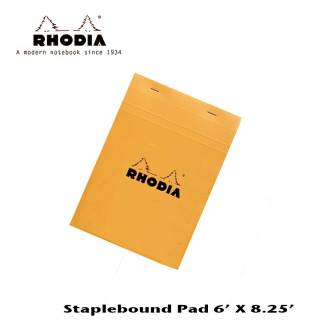 Rhodia Staple Bound Pad 6 X 8