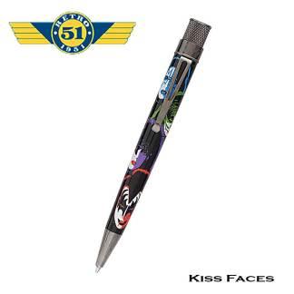 Retro51 Kiss Faces Roller Ball