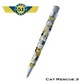 Retro51 Cat Rescue Rollerball
