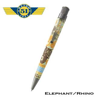 Retro51 Elephant and Rhino