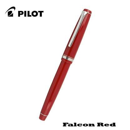 Pilot Falcon Red Fountain Pen Closed
