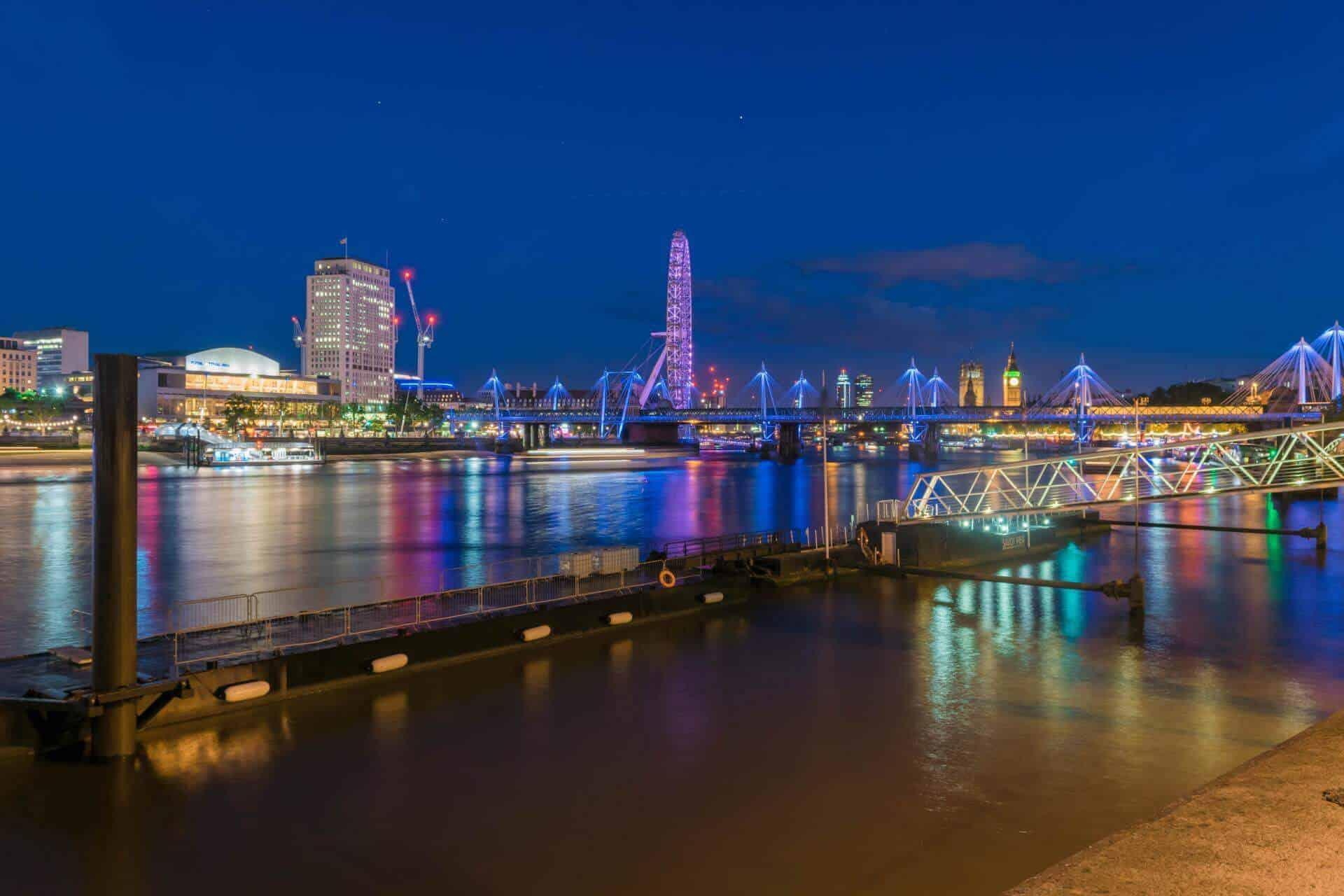 London Eye - Long exposure