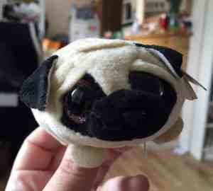 pug dog soft toy