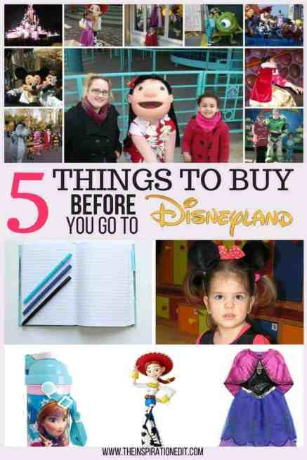 Here are 5 Things To Buy Before You Go To Disneyland