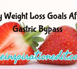 Weight Loss Goals Bariatric Surgery