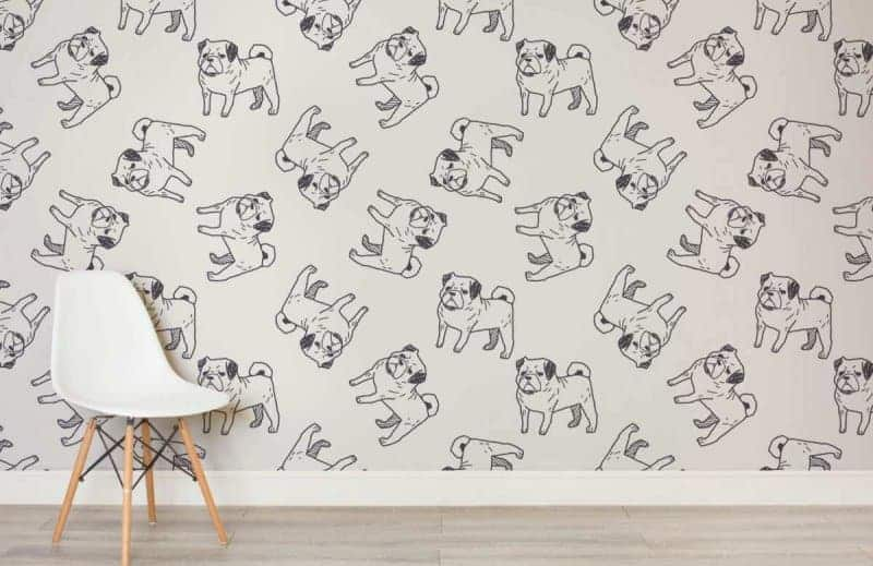 A Pug Themed Bedroom For Dog Lovers 183 The Inspiration Edit