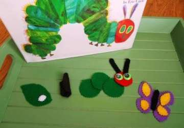 hungry caterpillar crafts
