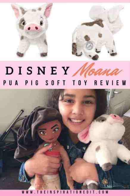 Here is the review for a beautiful Plush Pig called Pua, Me and my daughter both fell in love with this Disney Pua Pig and see some amazing pics with that!