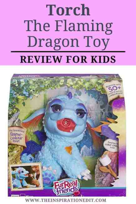 Here you can read a fantastic review about the Hasbro toy called FurReal Friends Torch My Blazin Dragon, it is really fantastic surely your daughter will love it!