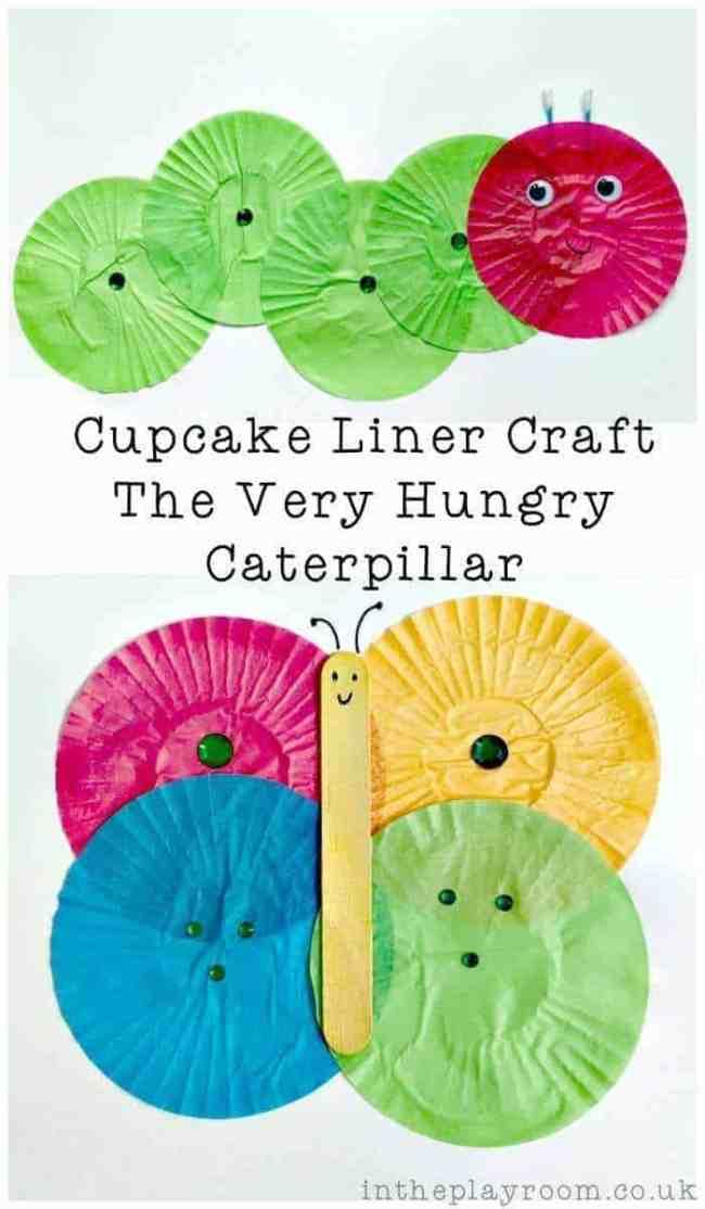 very hungry catepillar art