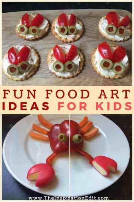Fun Food Art Ideas For Kids