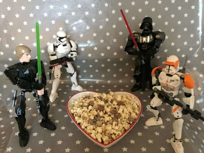 star wars popcorn tutorial