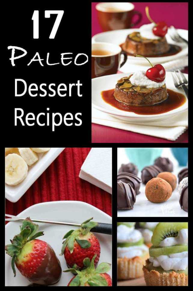 Paleo dessert recipes