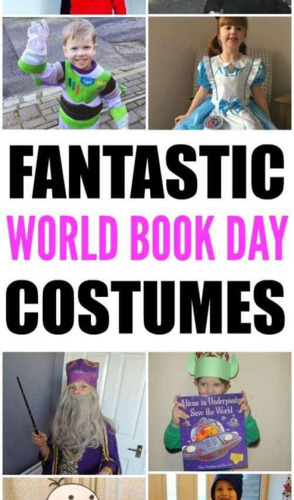 Fancy dress ideas for kids. World Book costumes for school