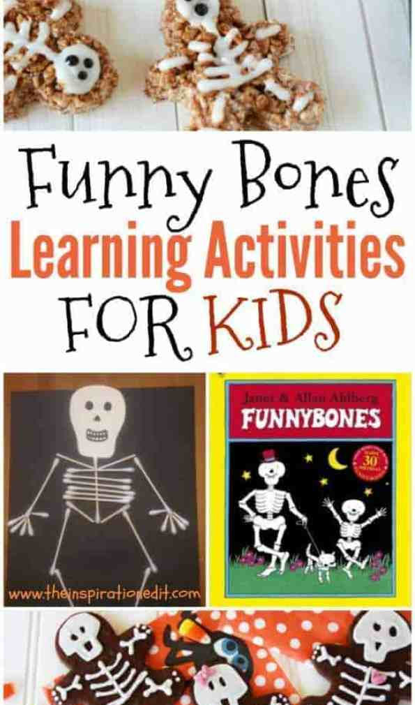 Learning Activities For Kids Reading and Literacy Funny Bones