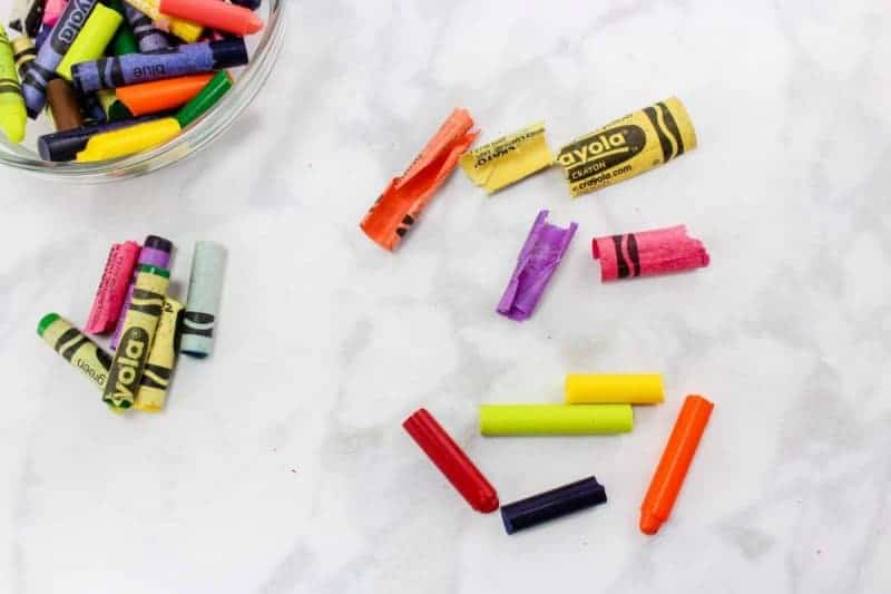 Recycle Crayons