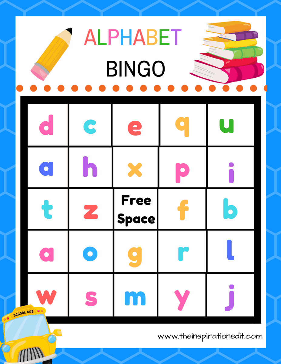 It is a graphic of Playful Free Printable Bingo