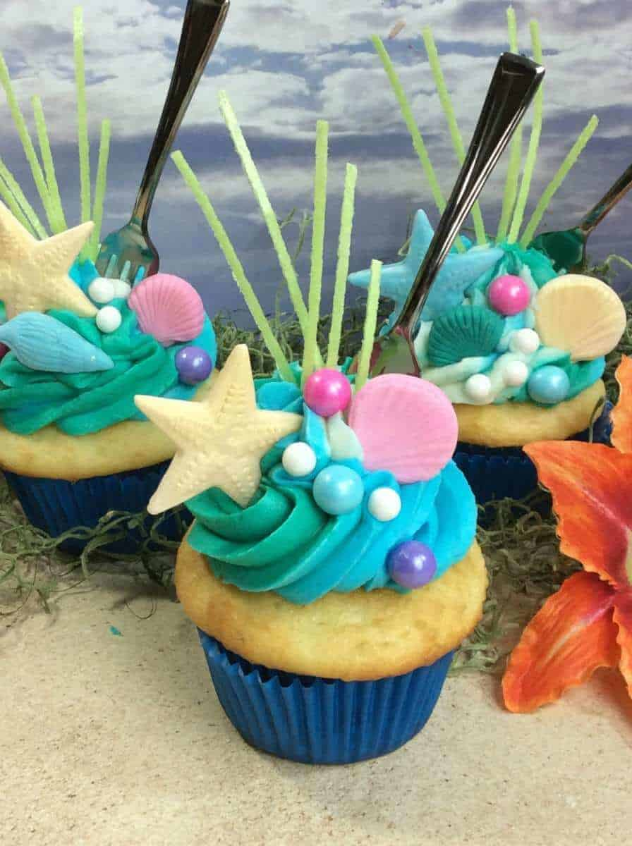 The Little Mermaid Ariel Inspired Cupcakes 183 The