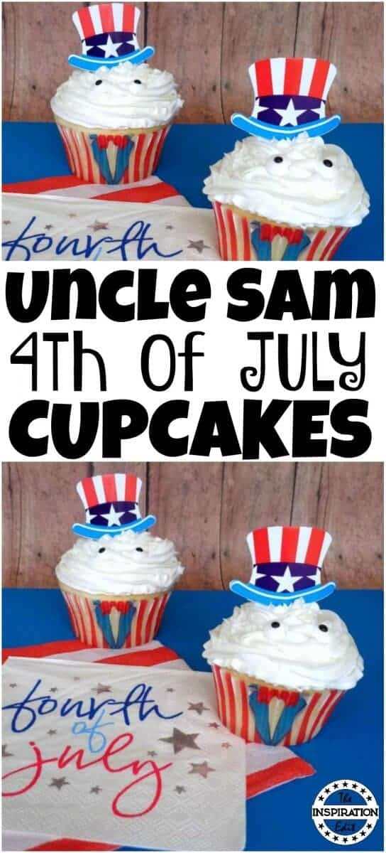 uncle sam 4th july cupcakes