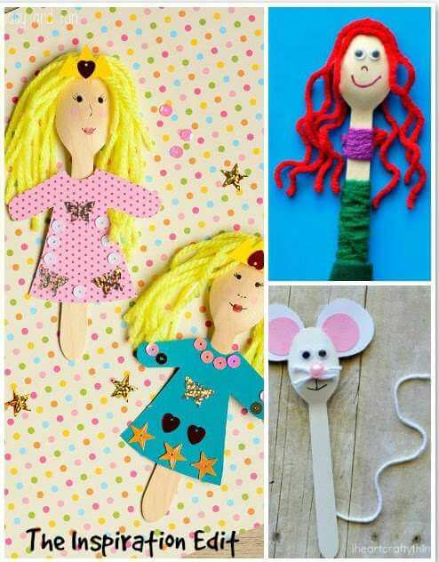 wooden spoon crafts for kids