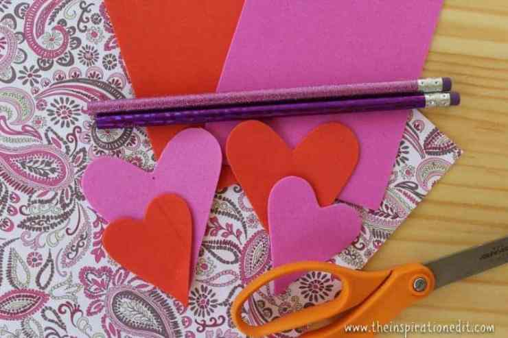 IMG 2814 800x533 - Heart Pencil Toppers Valentines Craft For Kids