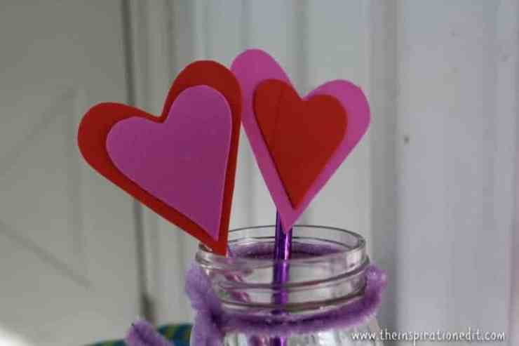 IMG 2826 800x533 - Heart Pencil Toppers Valentines Craft For Kids