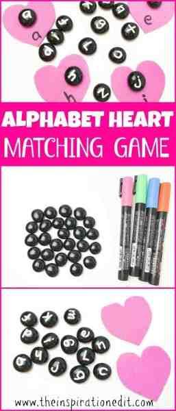 alphabet heart game