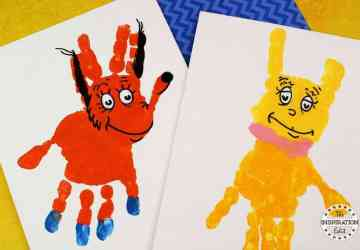 Socks Handprint Canvas