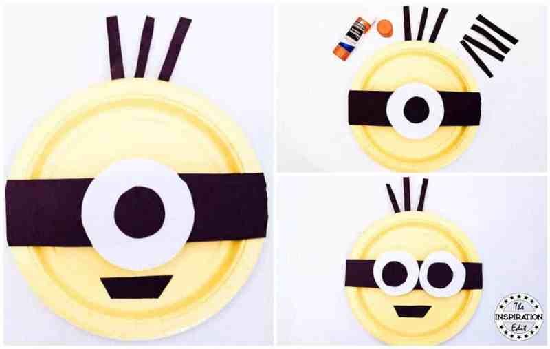 Minions Paper Plate Craft