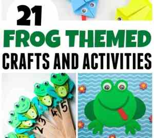 Super Fun Frog Crafts For kids That You Will Love