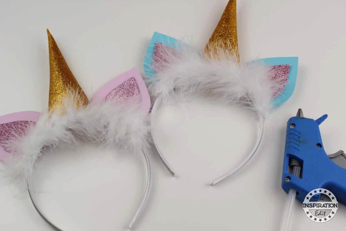 DIY Unicorn Headband Tutorial With Free Template