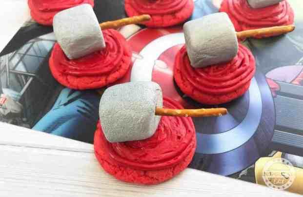 Thor Cookies For Superhero Parties