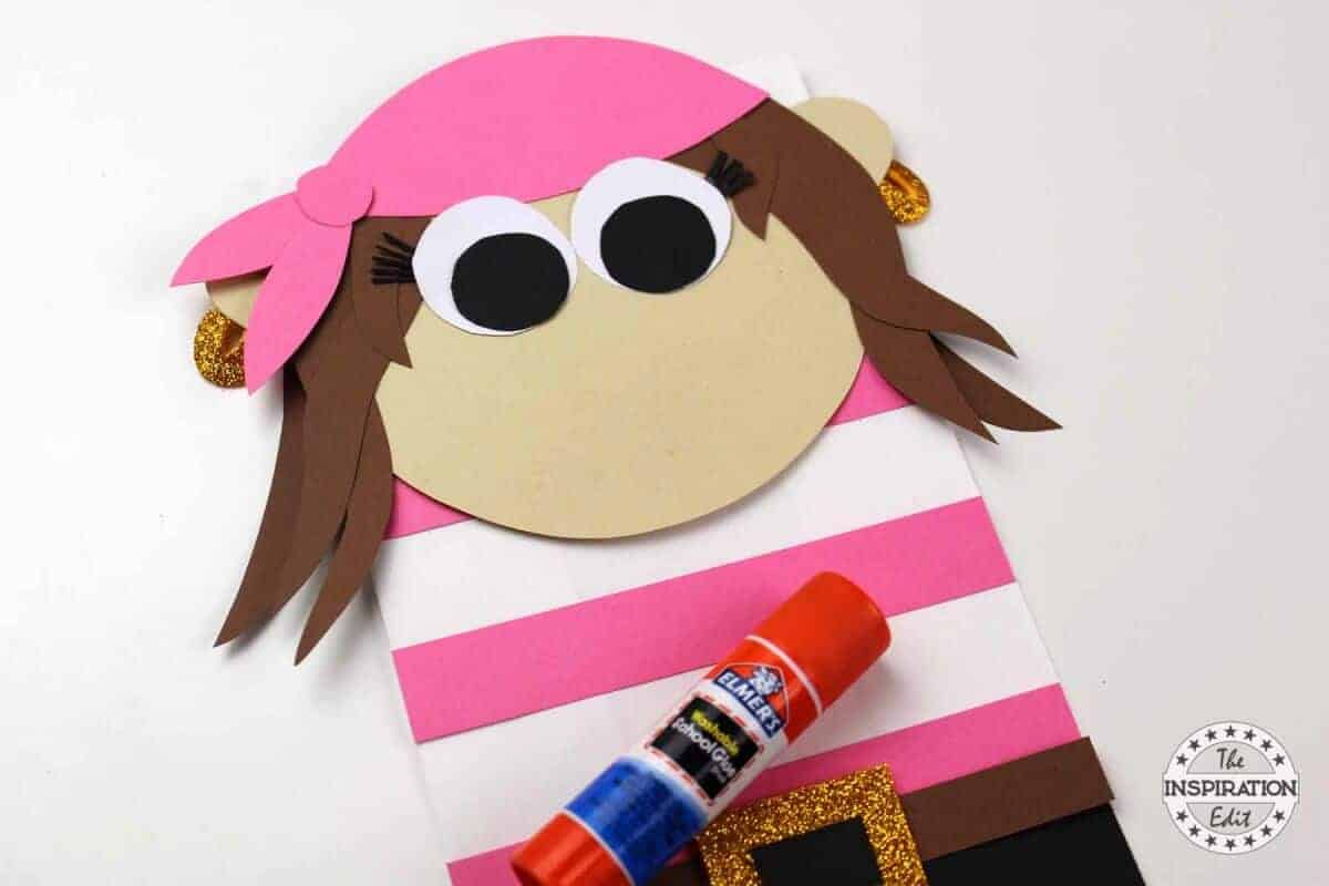 Paper Bag Pirate Puppets Kids Will Love The Inspiration Edit
