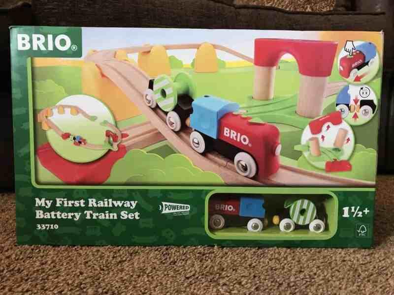 Brio my first railway battery train set