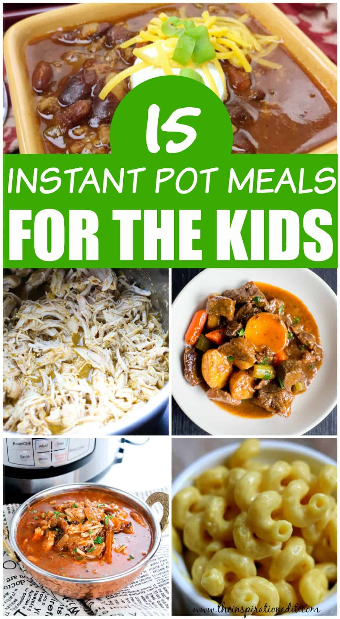instant pot meals for kids