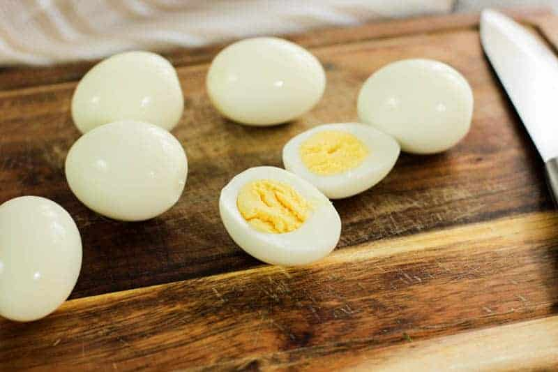 easy deviled eggs with shrimp