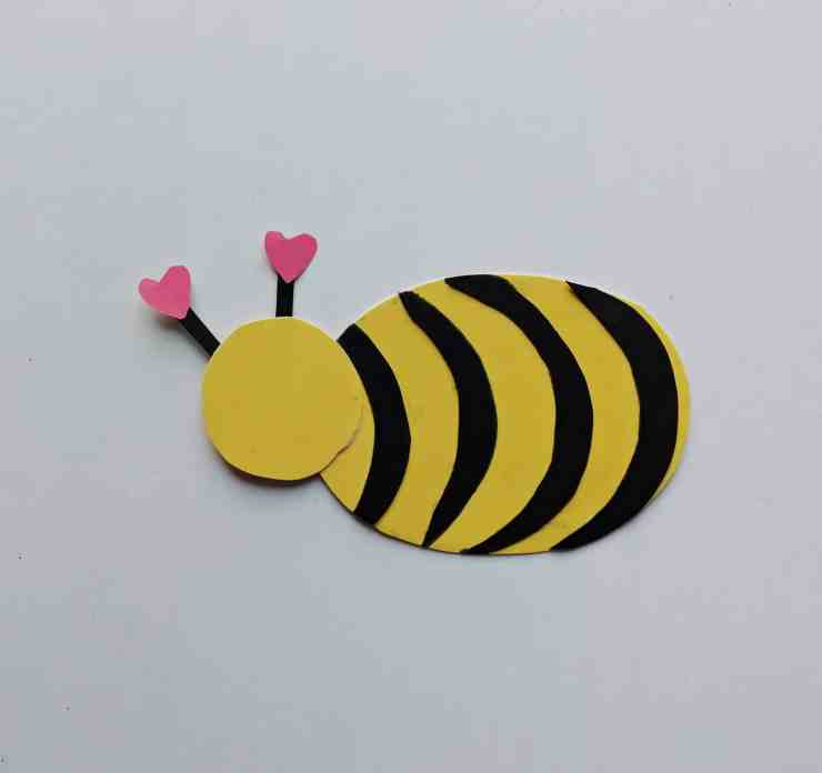 Step 4 - DIY Honey Bee Craft Idea For Valentines
