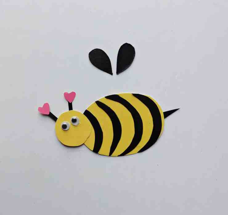 Step 6 - DIY Honey Bee Craft Idea For Valentines