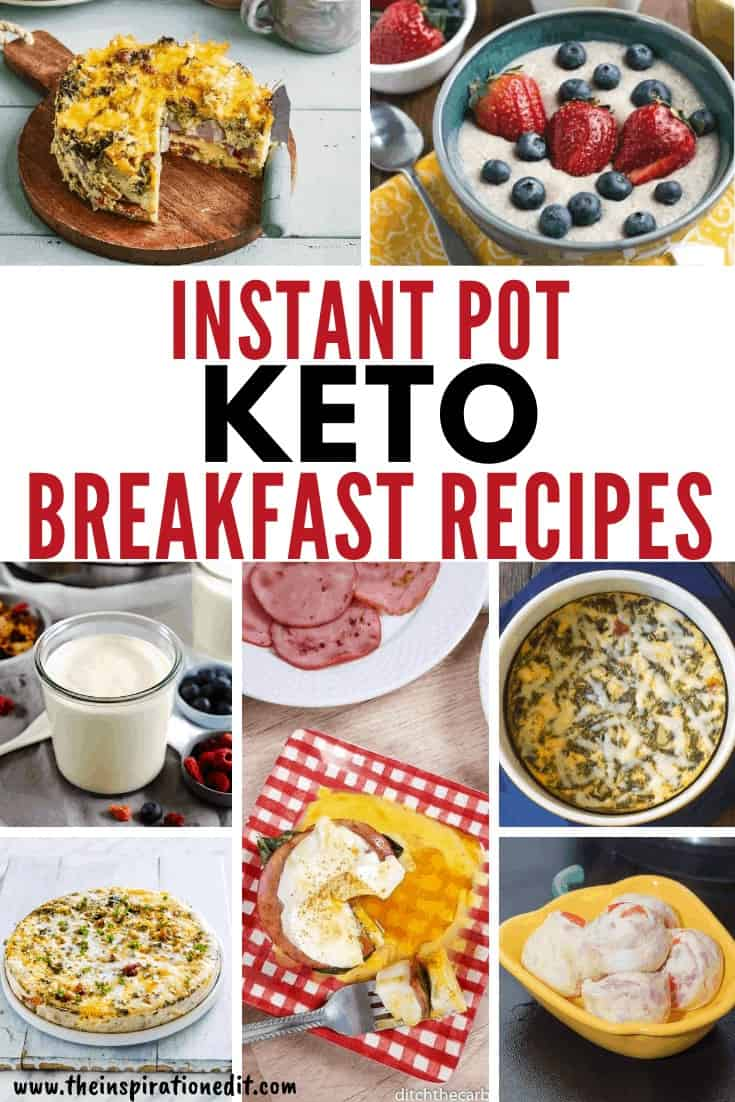 Instant Pot Keto Breakfast Recipes