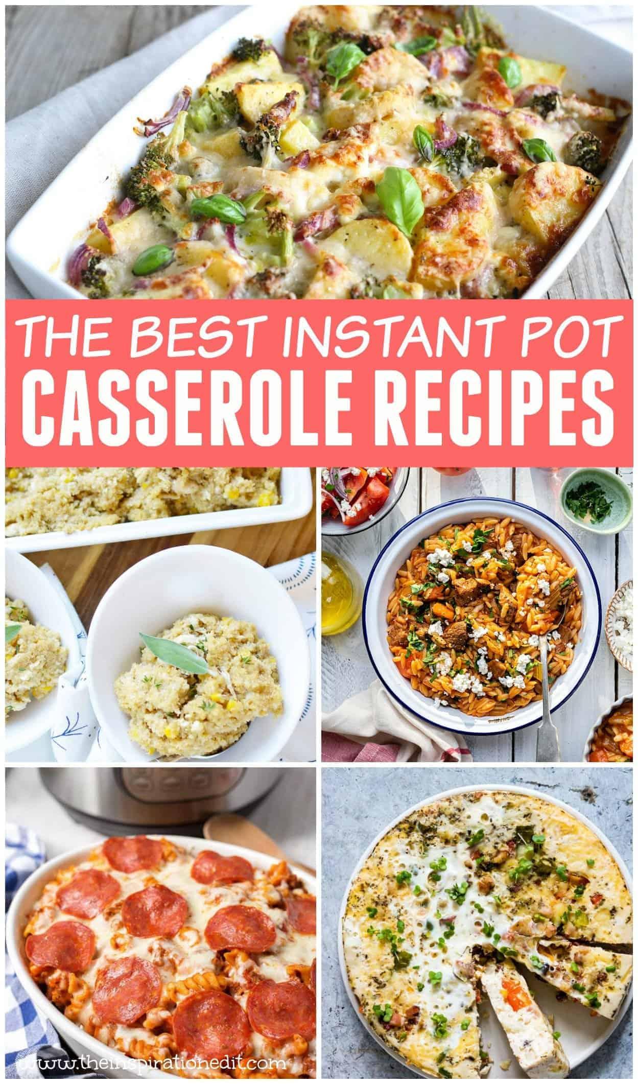 instant pot casserole recipes