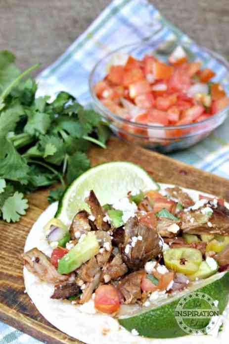Instant Pot Pork Tacos