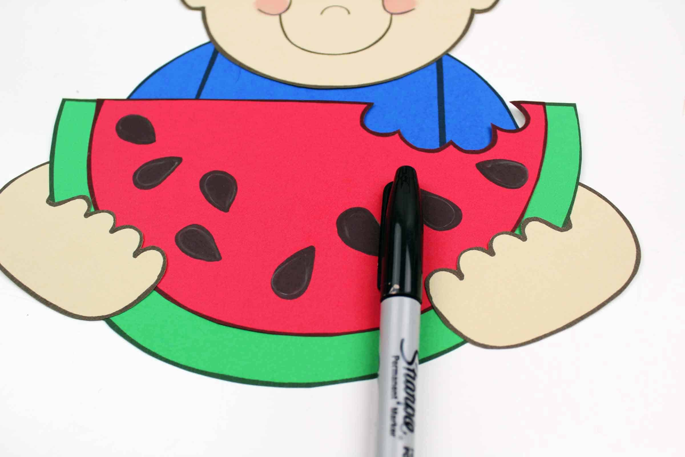 Watermelon Template And Craft The Inspiration Edit