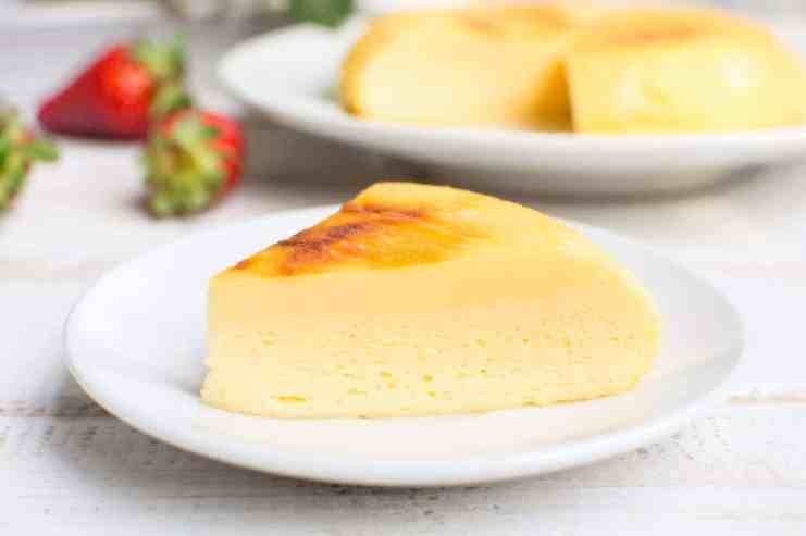 instant pot japanese cheesecake
